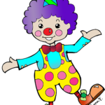 personaj-copii-clown